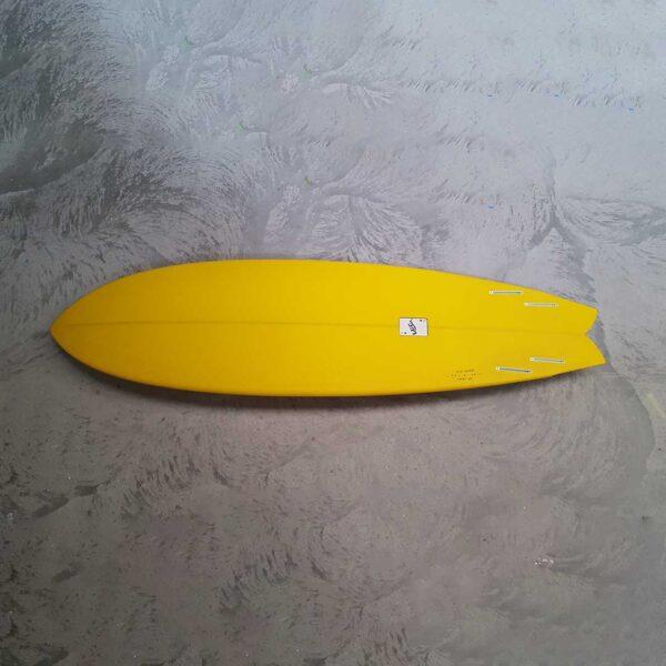 stretch fish surfboard