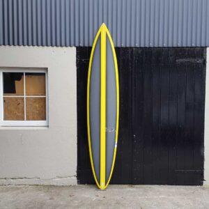 gun surfboard