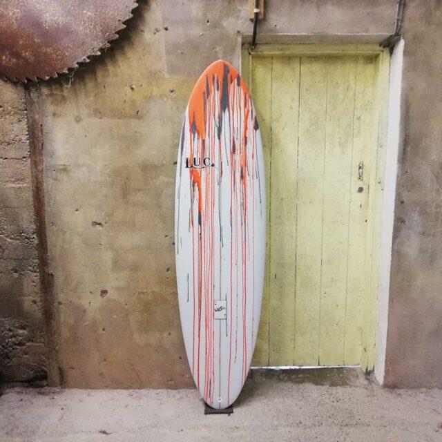 performance egg surfboard