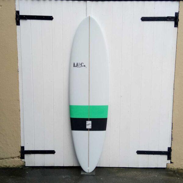 runny egg surfboard