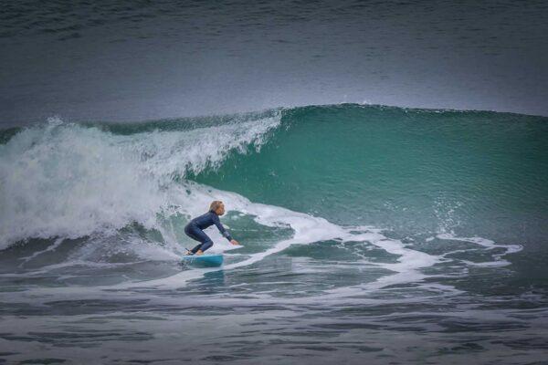 Joshua Karbus surfing